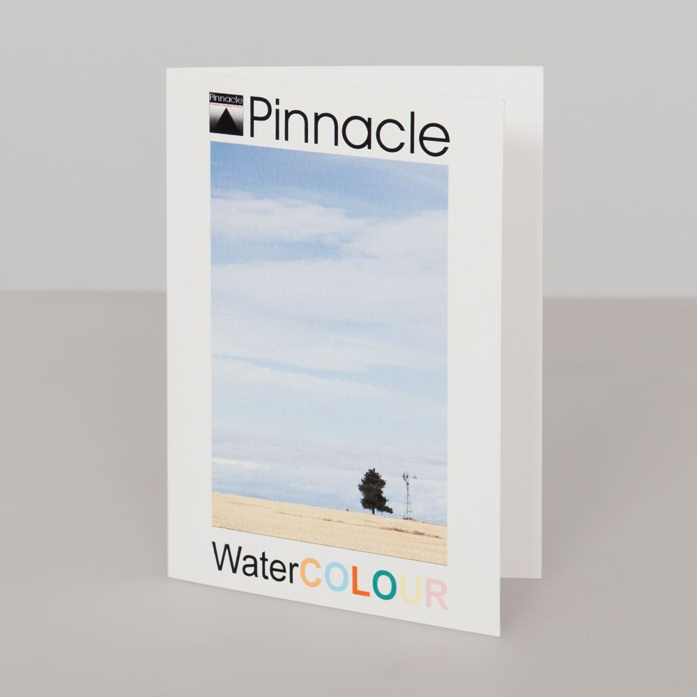 Blank pinnacle watercolour 245gsm inkjet greeting card blank photo inkjet greeting card paper kristyandbryce Images