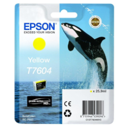 Epson T7604 Yellow Ink Cartridge Ink Cartridge 25.9ml